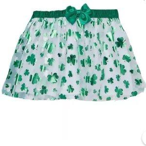 St. Patrick's Day Baby Girl Tutu Skirt (12 Months)
